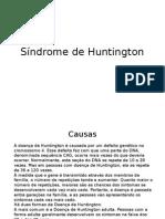 Síndrome de Huntington