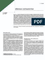 Cx Del Embarazo Extrauterino