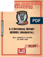Historical Report on the Guerilla Operations in Negros Occidental