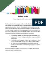 print books problem