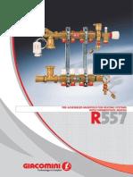 r557 Mixing Manifold