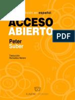 Peter  Suber Acceso Abierto Español