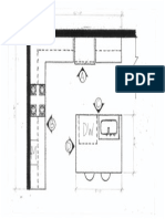 Blown- Up Kitchen Floor Plan