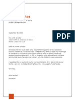 alice benitez cover letter