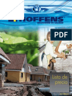 Catalogo-precios Hoffens 2015