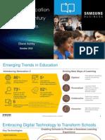 CDE DELC K-12 2015 Presentation - 21st Century Classroom - Diane Ashby