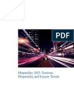Dttl-Hospitality 2015 - Tourism Hospitality and Leisure Trends