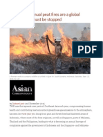 Indonesia's Annual Peat Fires Are a Global Disaster That Must Be Stopped