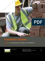 Lintel Installation Guide