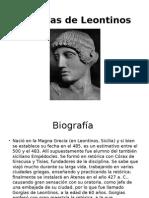 Gorgias de Leontinos