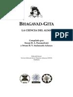 Bhagavad Gita - La Ciencia Del Alma