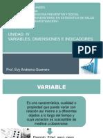 Variables en la investigación de un proyecto