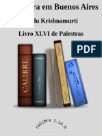 3a Palestra Em Buenos Aires - Jiddu Krishnamurti