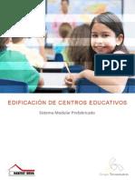 Edificación Centros Educativos Termomatix