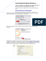 Manual de Instalacion Vital Source Bookshelf-2014