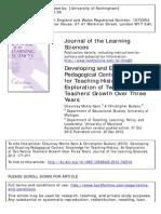 descubriendo pedagogías de contenido y conocimiento