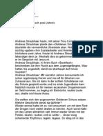 Andreas Straubhaar - Kampf gegen Drogen und Sucht - Bibel Jesus Christus Gott Religion Glaube Esoterik