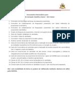 Documentos Necessarios FAPEMA