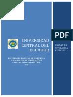 FICFM - Civil Unidad de Titulacion Especial Ing. Civil