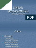 Pengenalan Linear Programming