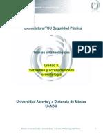 Unidad 3. Vertientes y Actualidad de La Criminologia