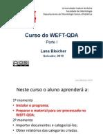 Curso de WEFT-QDA 1a Parte Cor