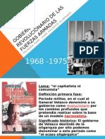 Gobierno Revolucionario de Las Ffaa. 2014
