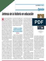 Historia en La Educacin