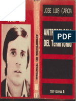 204179443 Antropologia Del Territorio Jose Luis Garcia