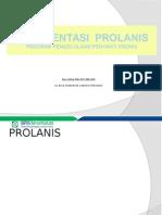 PROLANIS Bahan Tot 2015