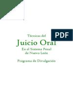 Juicio Oral, Tecnicas Del, Nuevo Leon