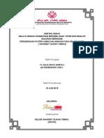 Kertas Kerja Program Pu3 IMARAH RAMADHAN