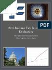 2015 Indiana Tax Incentive Evaluation