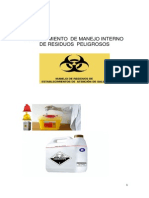Procedimiento Manejo Residuos Producidos en Clinicas Odontologicas