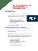 Administración Empresarial capitulo 1