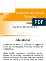 Clase 1 de E business Universidad Galileo