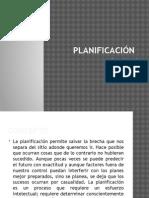 Planificación administracion