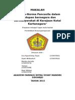 Norma-Norma Pancasila dalam Kehidupan  Bernegara di Kerajaan Kutai Kartanegara
