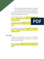 Ejemplo de diseño metodológico