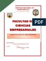 Constitución de Mi Empresa