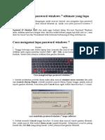 Cara membuka password windows 7 ultimate yang lupa.docx