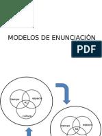 Modelos de Enunciación. Gabriel Verduzco
