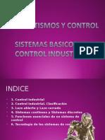 Automatismos y Control Sistemas Basicos Control Industrial