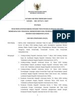 Kepmen PU 390-2007 Penetapan Status Daerah Irigasi