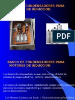 Banco de Condensadores Para Motores De Induccion