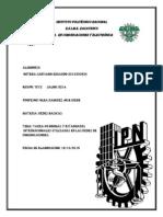Tarea #6 (Normas y Estándares Internacionales Utilizadas en Las Redes de Comunicaciones.)