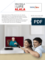 Tata Sky E-brochure