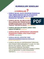 Review Kajian Kurikulum 14