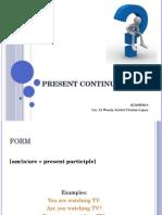 Present Continuous 2
