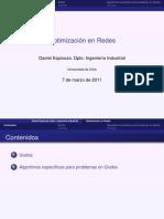 Optimización en redes (CURSO)